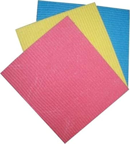 Splendid Microfiber Cellulose Cloth Wipe for Home Kitchen Appliance Car Cleaning Pack of 3 pcs