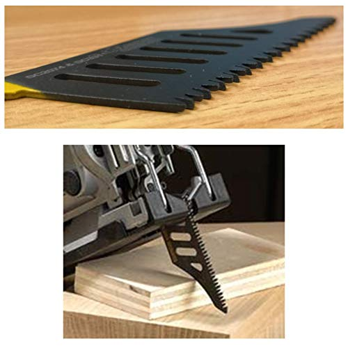 Flush Cutting Jigsaw Blade