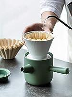 クリエイティブハンドコーヒーポットフィルターセラミックコーヒーフィルターカップセット家庭用ポータブルコーヒー器具