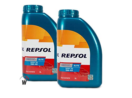 Repsol Aceite Motor Elite TDI 50501 5W-40 5 litros (2 litros)