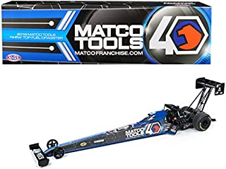 2019 Funny Car NHRA Antron Brown TFD (Top Fuel Dragster) Matco Tools 40th Anniversary 1/24 Diecast Model Car by Auto World CP7586