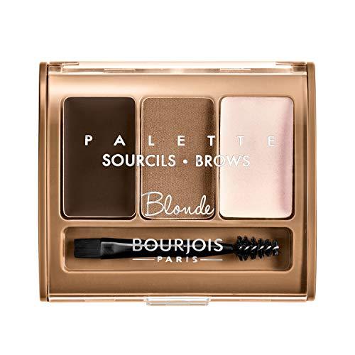 Bourjois Brow Palette Kit para cejas Tono 1 Blonde - 4.5 gr