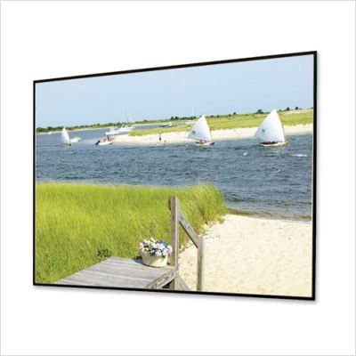Clarion Grey Fixed Frame Projection Screen Viewing Area: 65