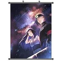 NARUTO-ナルト-アニメ巻物ポスターマンガウォールアート壁画ファンはギフトの家の装飾を収集します 19.7x29.5inch/50x75cm