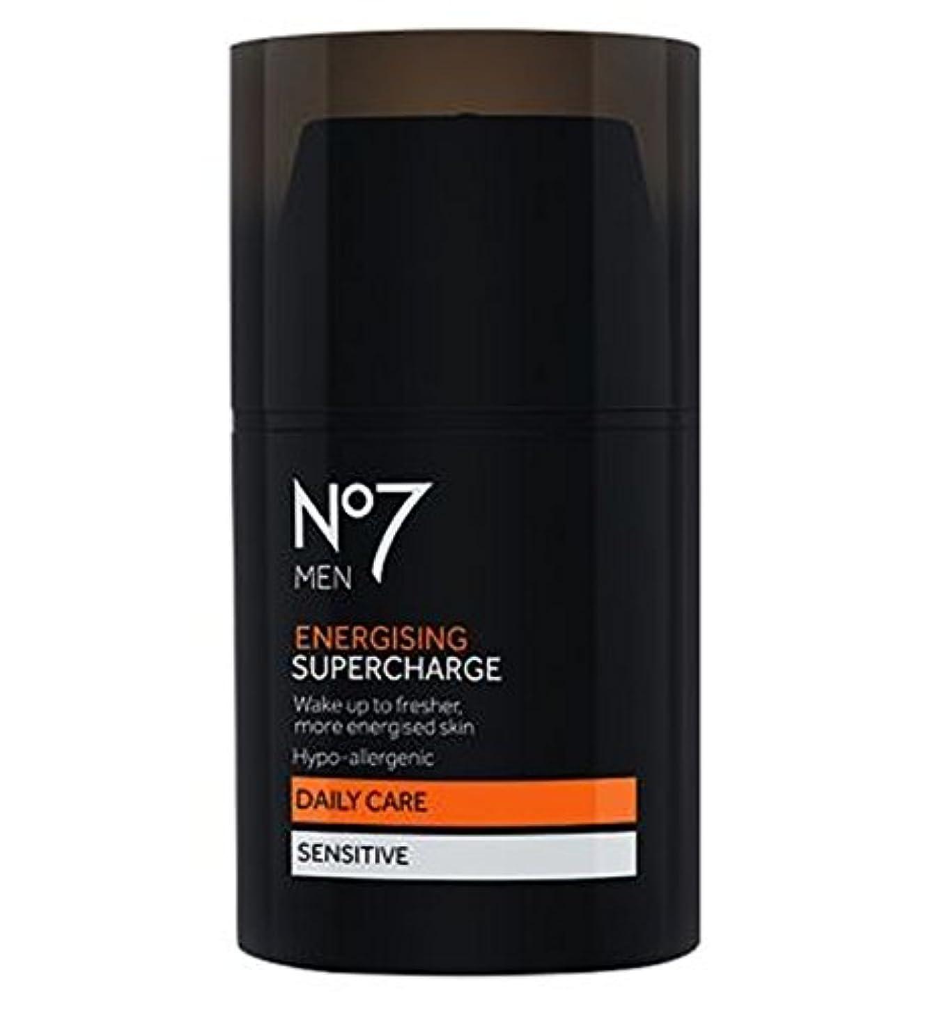 混乱した立ち寄る彼過給を通電No7の男性 (No7) (x2) - No7 Men Energising Supercharge (Pack of 2) [並行輸入品]