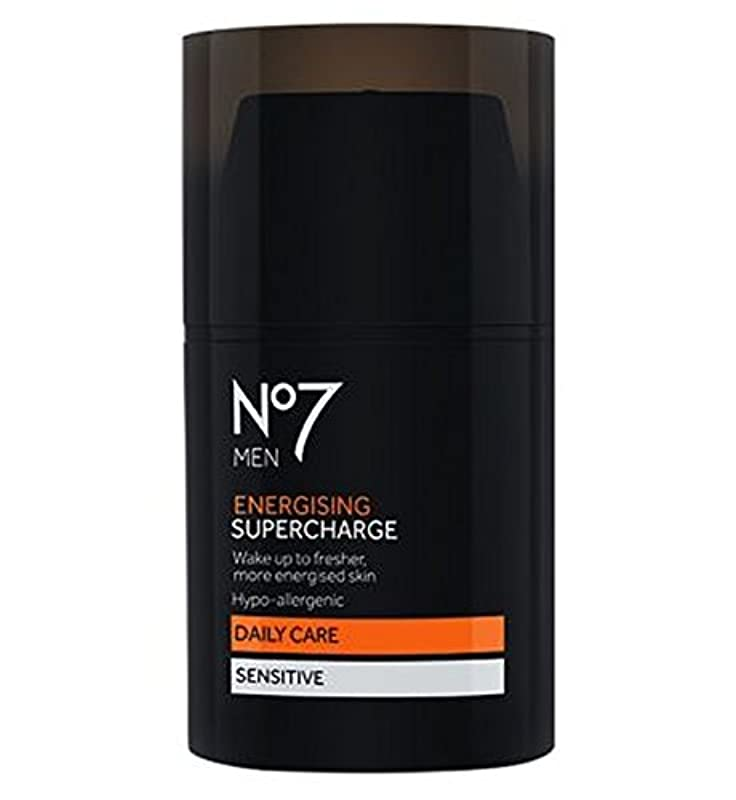 慣らす調整可能笑いNo7 Men Energising Supercharge - 過給を通電No7の男性 (No7) [並行輸入品]