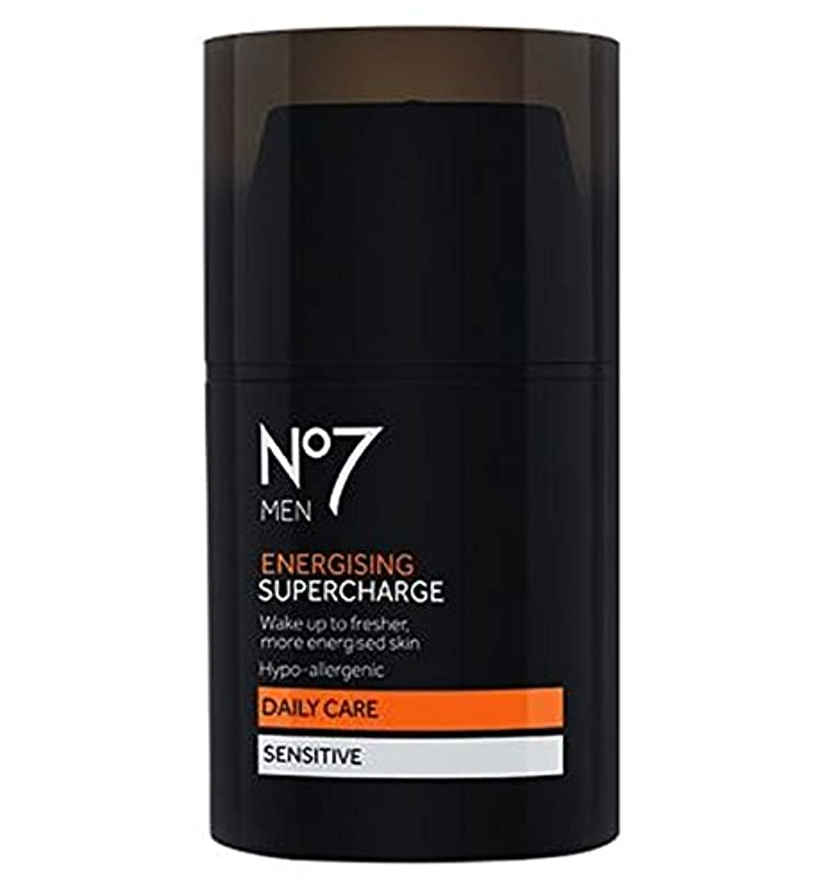 符号切断する中でNo7 Men Energising Supercharge - 過給を通電No7の男性 (No7) [並行輸入品]