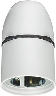 Knightsbridge uchwyt na lampę wiszącą, mocznik, biały