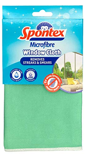 Spontex Microfibre Window Cloth XXL, Pack of 1