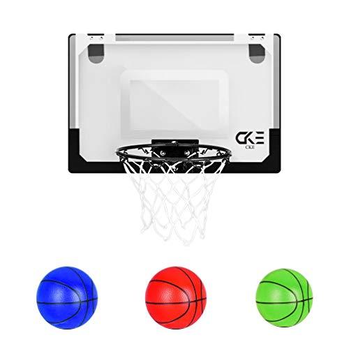 CKE Indoor Mini Basketball Hoop for Kids Teens Boys Girls 15.7' x 11'...