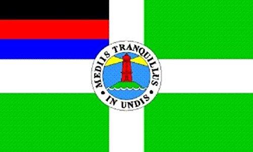 U24 Flagge Fahne Borkum 90 x 150 cm