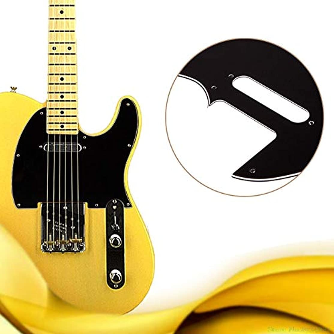 Susie-Smile - New 3 Ply Tele Style Electric Guitar Pick Guard Scratch Plate Fit Telecaster Black