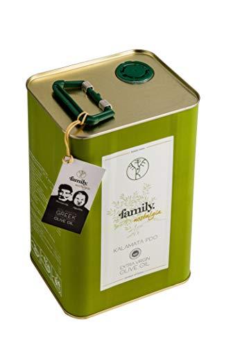 family. nostalgia | Extra natives Kalamata PDO Olivenöl / early harvest extra virgin olive oil (3L)