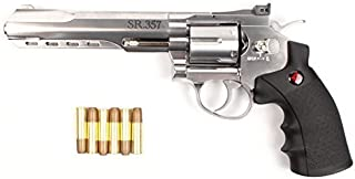 Crosman CRVL357S Co2 Powered 6 Shot Revolver Air Pistol