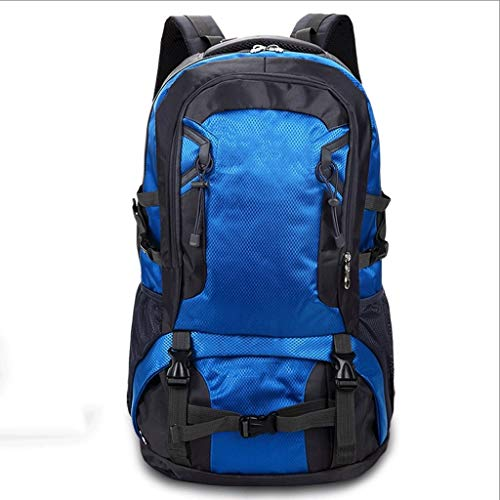 CHYZ Trading Outdoor Mountaineering Bags, Laptop Knapsack Fit for Laptops, Unisex Large Capacity Camping Backpacks, Leisure Bags Sports Hiking Package, Blue (Size : 70)