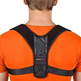 Leramed Posture Corrector for Men and Women - Adjustable Upper Back Brace for Clavicle Support and Providing Pain Relief from Neck, Back and Shoulder (Chest Size 25' - 50')