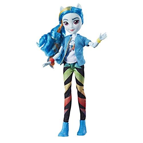 Hasbro My Little Pony My_Little_Pony Equestria-Bambola Stile Classico Rainbow Dash, Multicolore, E0670EL2