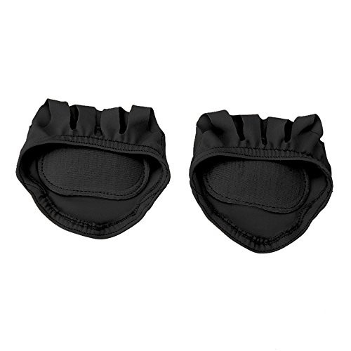 Owfeel Forefoot Cushion Pad Ball For Foot Protection Pair Black Color by Owfeel(TM)