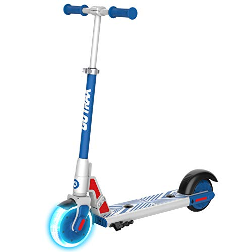 Gotrax GKS LUMIOS Electric Scooter Kick Scooter for Kids Teens (Blue), Small