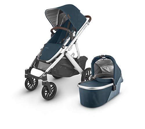 For Sale! VISTA V2 Stroller - FINN (deep sea/silver/chestnut leather)