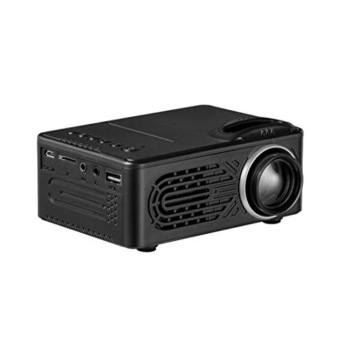 Find Discount KURT Mini Home Projector – Portable Video 80 Display for Home Theater Entertainment...