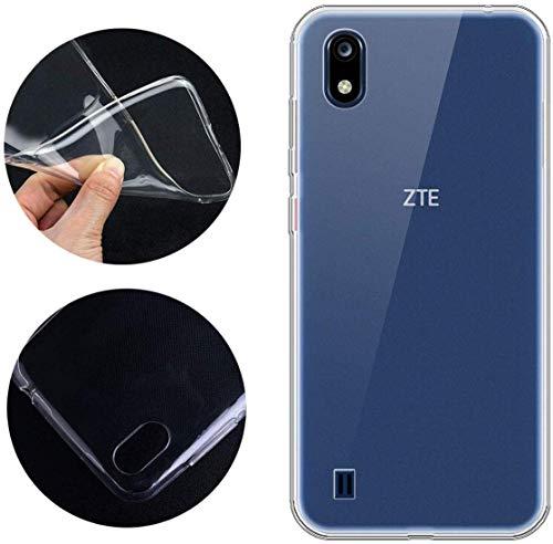 CaseExpert ZTE Blade A7 (2019) Hülle, Ultra dünn TPU Gel Handy Tasche Silikon Case Cover Hüllen Schutzhülle Für ZTE Blade A7 (2019)