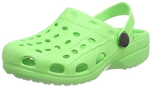 Playshoes EVA Clog, Zuecos Unisex Niños, Verde (Gruen 29), 32/33 EU