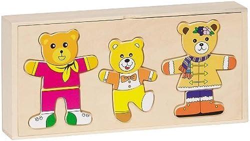 GoKi Wooden Dress-Up Bear Box by GoKi