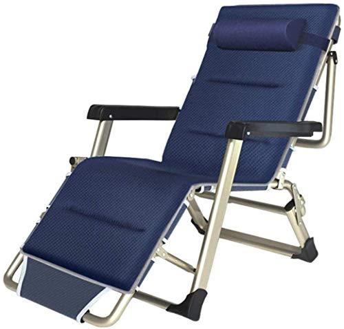 Productos for el hogar sillones reclinables Patio Salón plegables Silla de cubierta de sol con reposacabezas reclinable silla de jardín for acampar al aire libre, playa, terraza, patio junto a la pisc