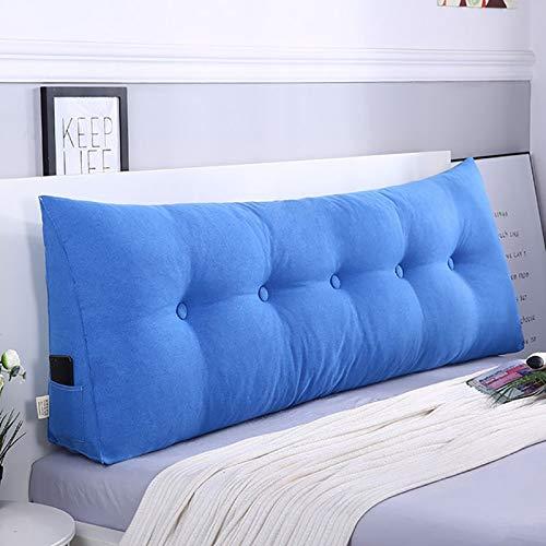 Goldenla nachtkastje met groot driehoekig kussen, afneembaar, wasbaar, grote rugleuning, zacht kussen