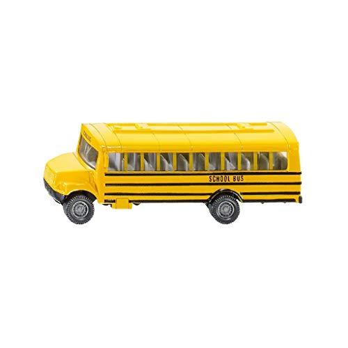 SIKU 1319, US-Schulbus, Spielzeugauto für Kinder, Metall/Kunststoff, Gelb, Vielseitig einsetzbar
