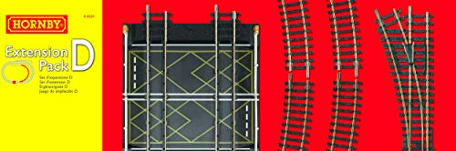 Hornby Electrotren - Circuito iniciación, Extension Pack D R8224