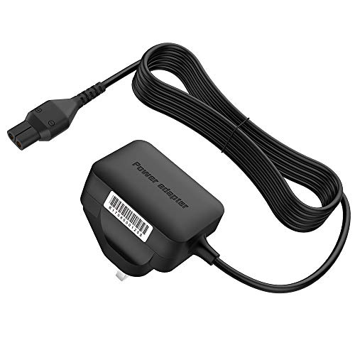 BERLS 5.5V Charger for Karcher Window Vacuum Cleaner Lead WV1 WV1 Plus WV2 WV 2 Plus WV5 WV 5 Premium 2nd Generation WV60 WV70 Replacement Plug for Kärcher Window Vac Power Supply Charging Cable