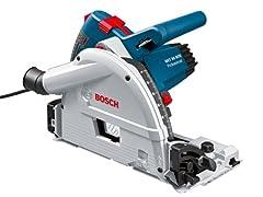 Bosch Professional duiken zag GKT 55 GCE (1400 watt, zaagblad diameter: 165 mm, incl. cirkelzaagblad voor hout, 1/1 L-BOXX inleg, in L-BOXX 374N)*