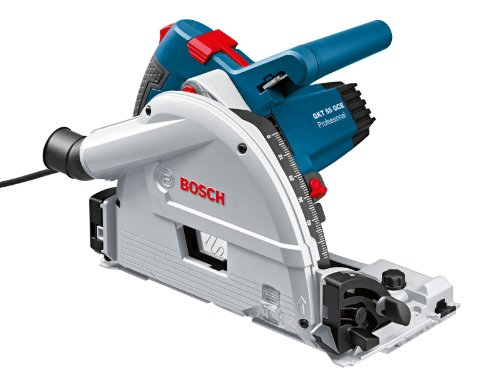 Bosch Professional GKT 55 GCE invalzaag, 1400 watt, diameter zaagblad: 165 mm, in L-BOXX)