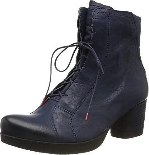 Think! Damen DRAWI_585236 Stiefeletten, Blau (Navy 83), 38.5 EU