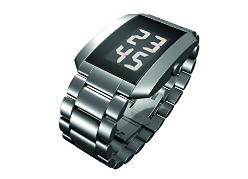 Rosendahl Herren Digital Quarz Smart Watch Armbanduhr mit Edelstahl Armband 43232