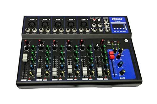 BES SRL Mixer Controller Audio Professionale 7 canali USB Karaoke mp3 dj F7 USB