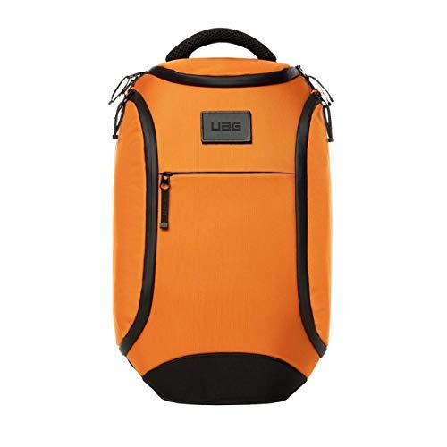 """Urban Armor Gear Rucksack für Laptops und Tablets bis 13"""" Zoll - (18 Liter, maximaler, ergonomische Polsterung, wetterfeste Reißverschlüsse, verschleißfestes Material) - orange"""