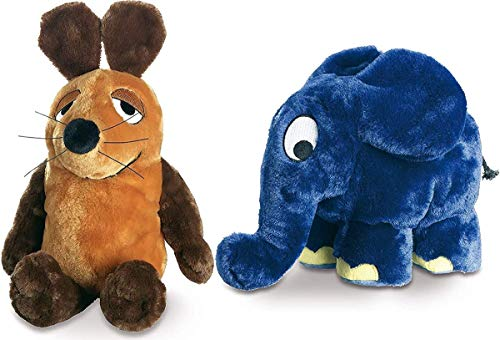 Schmidt Spiele Die Sendung mit der Maus - Maus und Elefant Plüsch 12cm