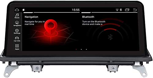 LINGJIE GPS Video Navigation Stereo Multimedia-Player für B M W x5 x6 E70 E71 2011-2013 CIC Android 9.0 10.25