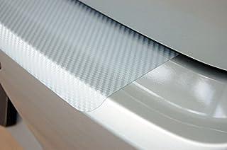Unbekannt Ladekantenschutz Carbon Style Folie   Silber
