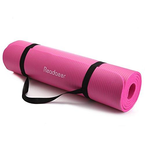 Readaeer® Fitnessmatte Yogini für Gymnastik Yoga Pilates mit Tasche und Tragegurt  Abbildung 3