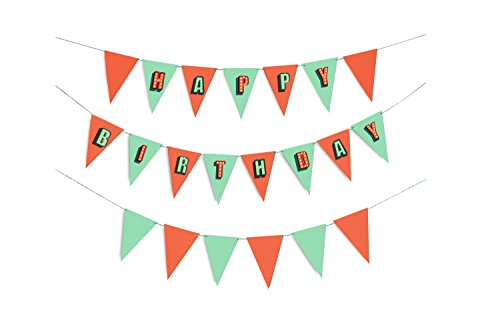 DOIY- Birthday Party Flags, DYFLAGSBI