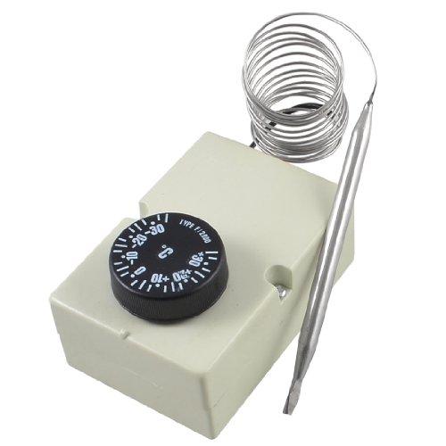 sourcing map WECHSELSTROM 250V 16A -30 zu 30 Grad Celsius Gefrierschrank Kühlschrank Thermostat DE de
