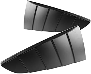Spec-D Tuning WLUQ-MST15B Spec-D Quarter Window Louver Glossy Black