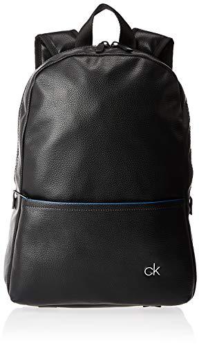 Calvin Klein Ck Direct Round Backpack - Borse a spalla Uomo, Nero (Black), 1x1x1 cm (W x H L)