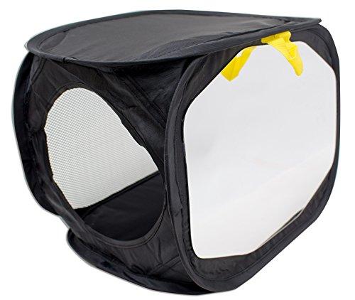 Mirror Box | Spiegeltherapie | Therapiespiegel | Reflex Spiegeltherapie Box | zusammenklappbar, für Hand und Handgelenk | 35 x 25 x 25 cm