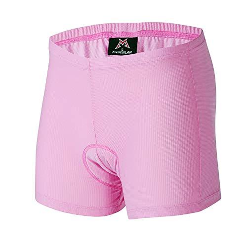 MYSENLAN - Radsportunterwäsche für Damen in Rosa, Größe L
