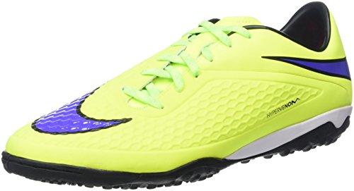 Nike Hypervenom Phelon TF, Botas de fútbol Hombre, Amarillo (Volt/Persian Violet), 45.5 EU